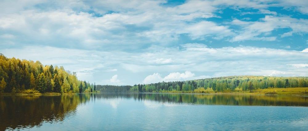 Calm river.