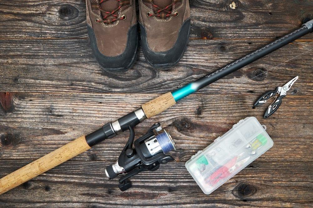 Fishing equipment.