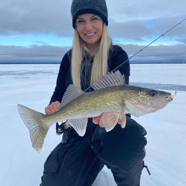 Nicole Stone Ice Fishing